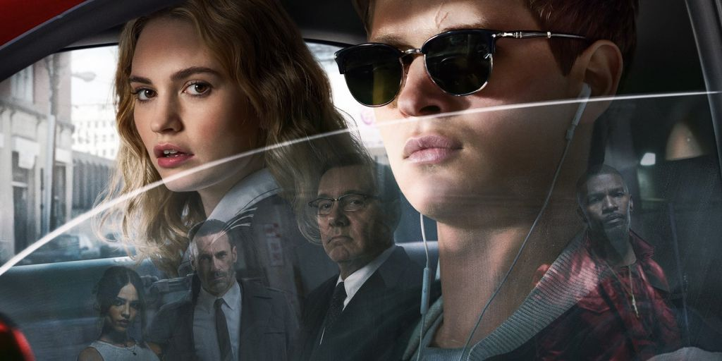 Baby Driver International Poster