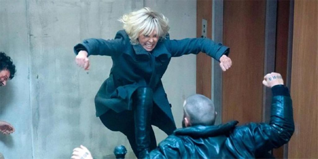 Atomic Blonde with Charlize Theron