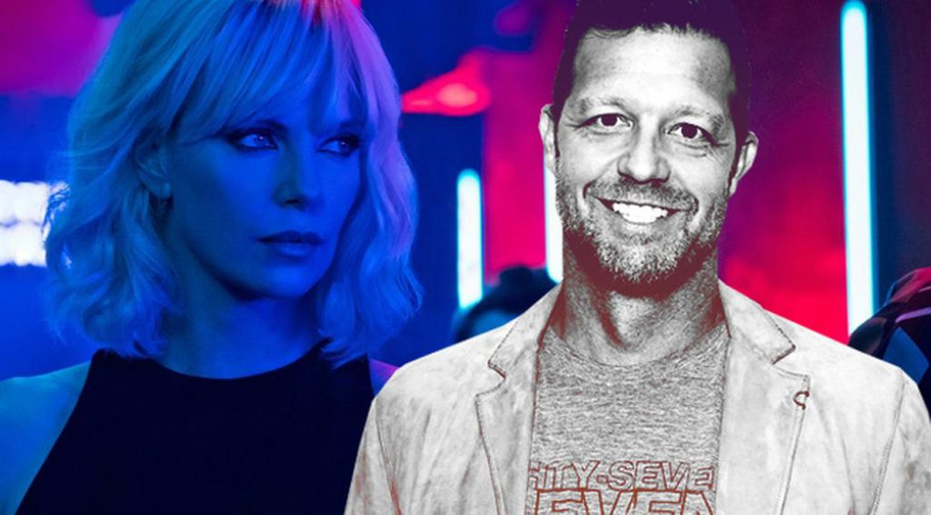 David Leitch and CHarlize Theron in Atomic Blonde
