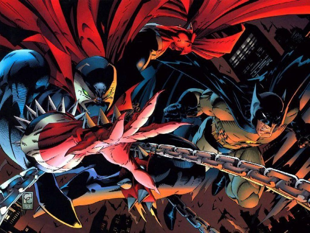 Batman Spawn Crossover