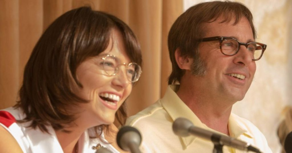 Emma Stone and Steve Carell on Battle of the Sexes