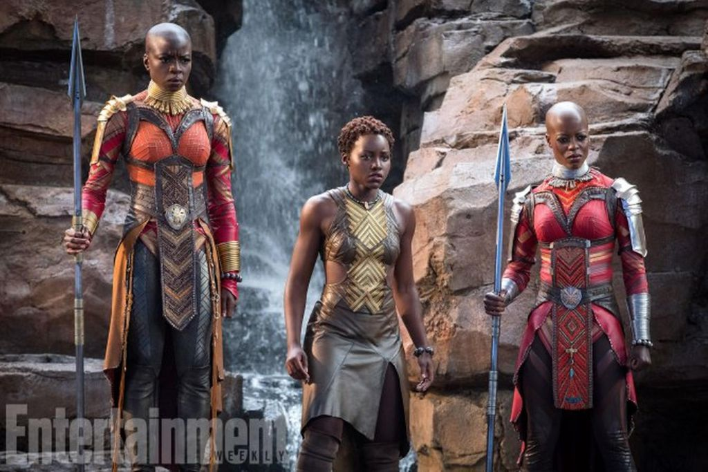 Black Panther Cast Female Characters