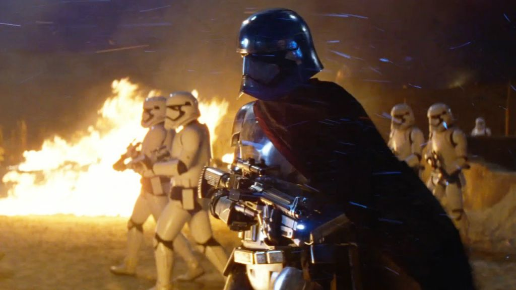 Captain Phasma in Star Wars The Force Awakens