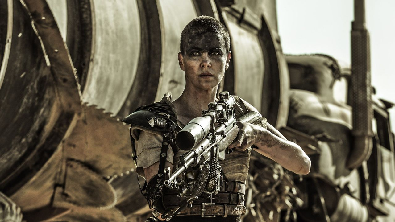 Furiosa in Mad Max Fury Road