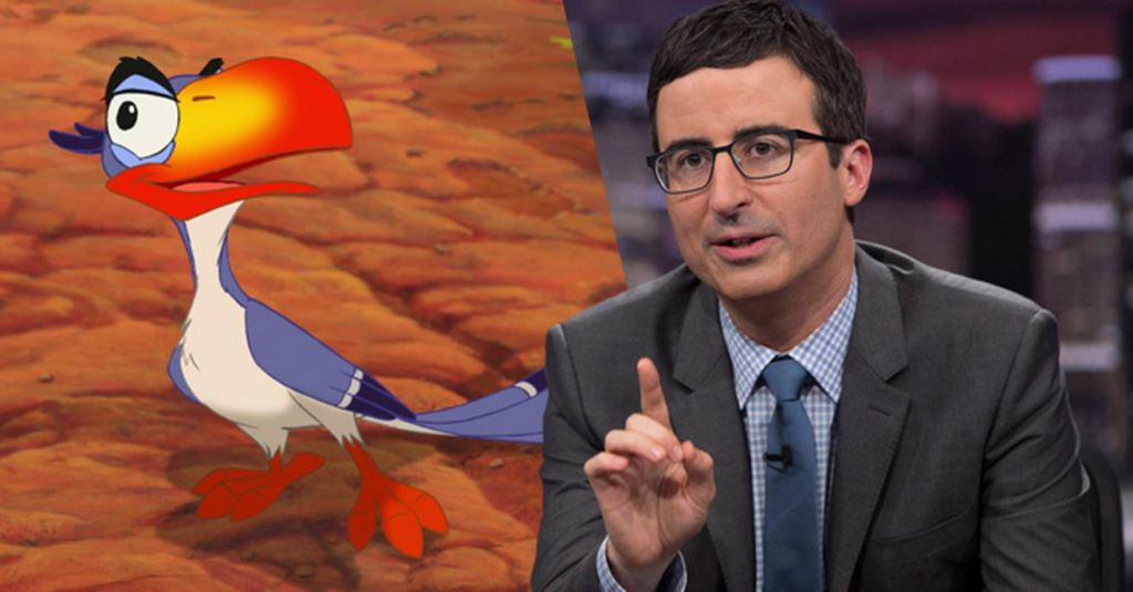 John Oliver Zazu The Lion King