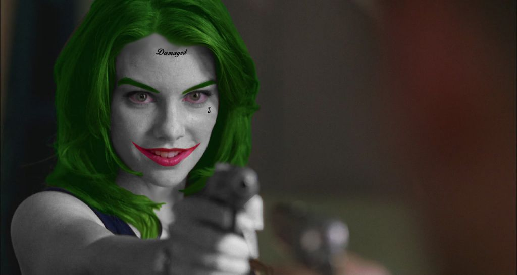 Lauren Cohan Joker Flashpoint