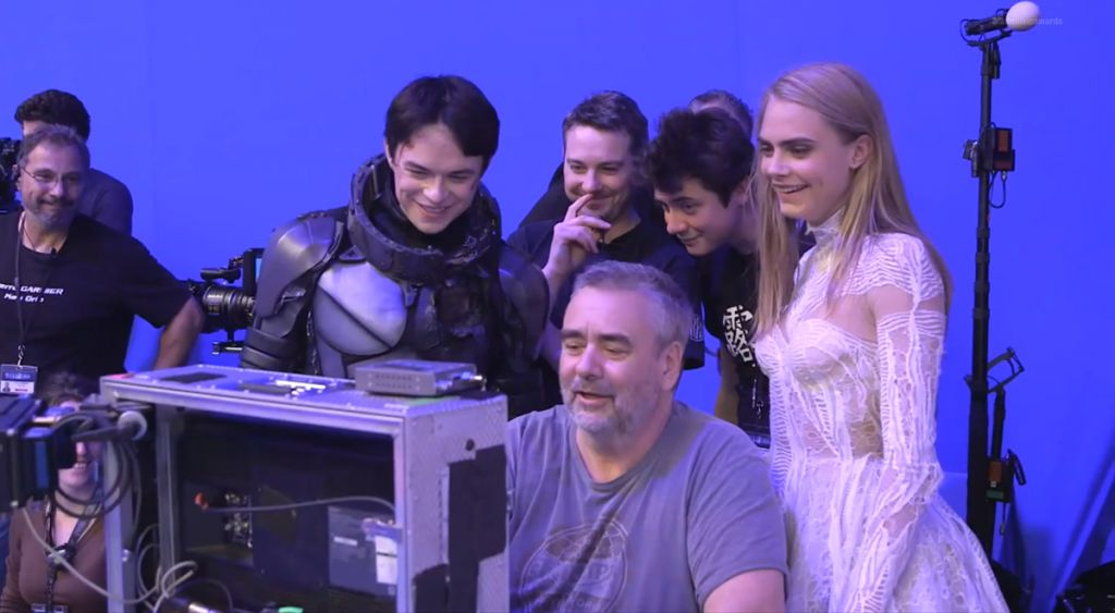 Luc Besson Valerian Set