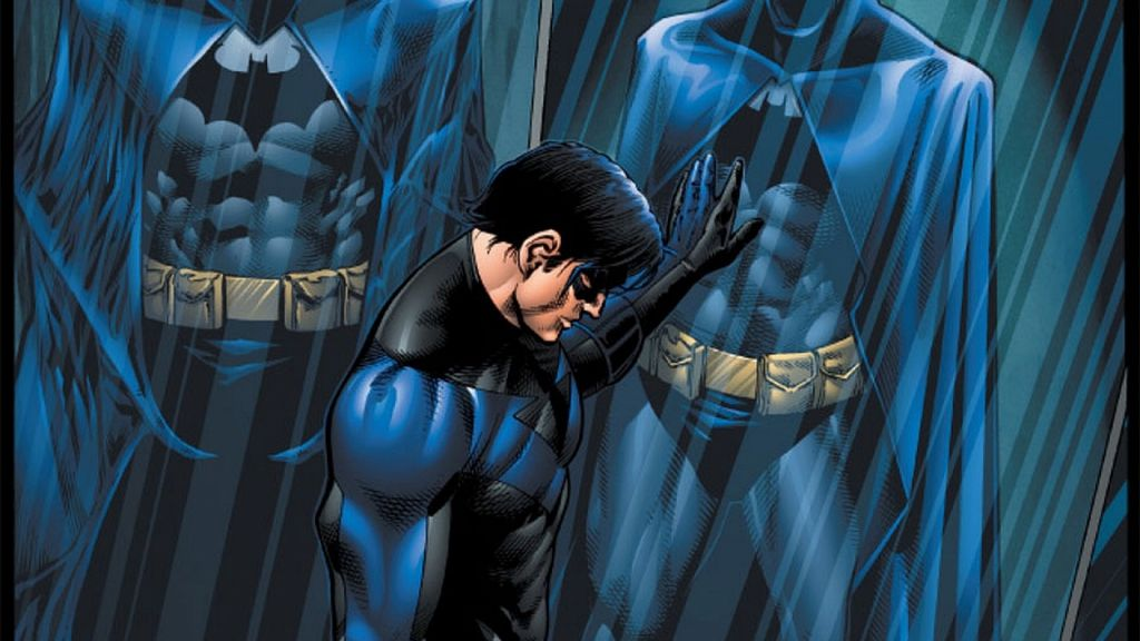 Nightwing DC Comic Character