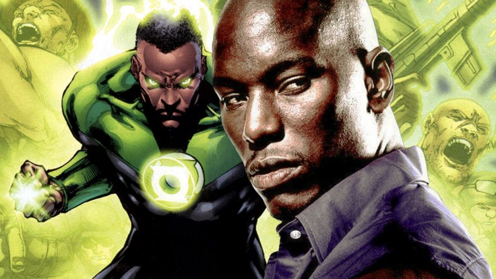 Tyrese Gibson for DC Green Lantern