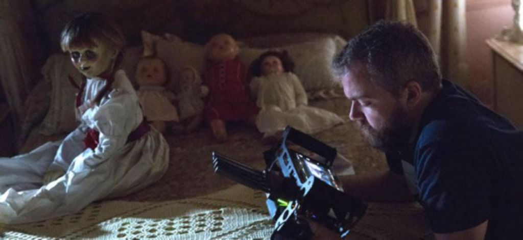 Annabelle Creation Director on Practical Effects