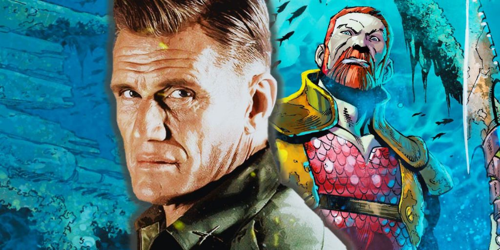 Aquaman Movie Dolph Lundgren