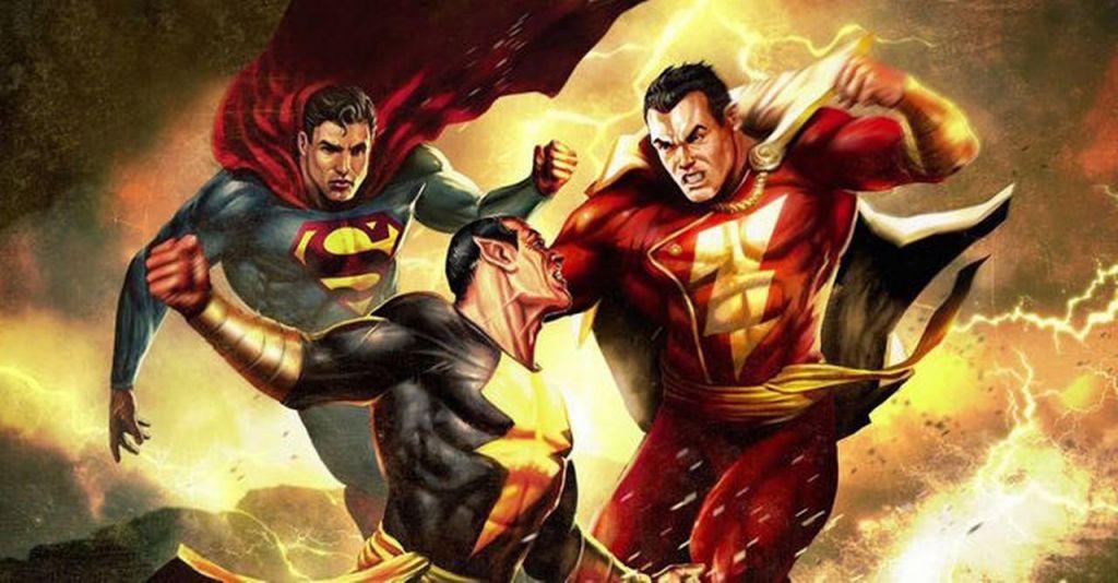 Superman, Shazam and Black Adam