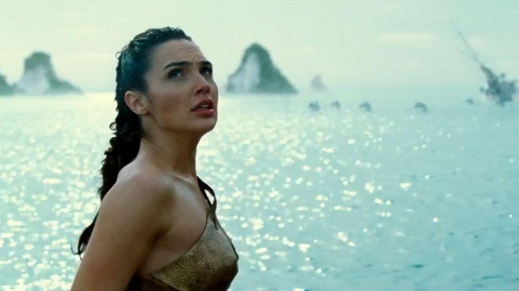 Wonder Woman First Battle