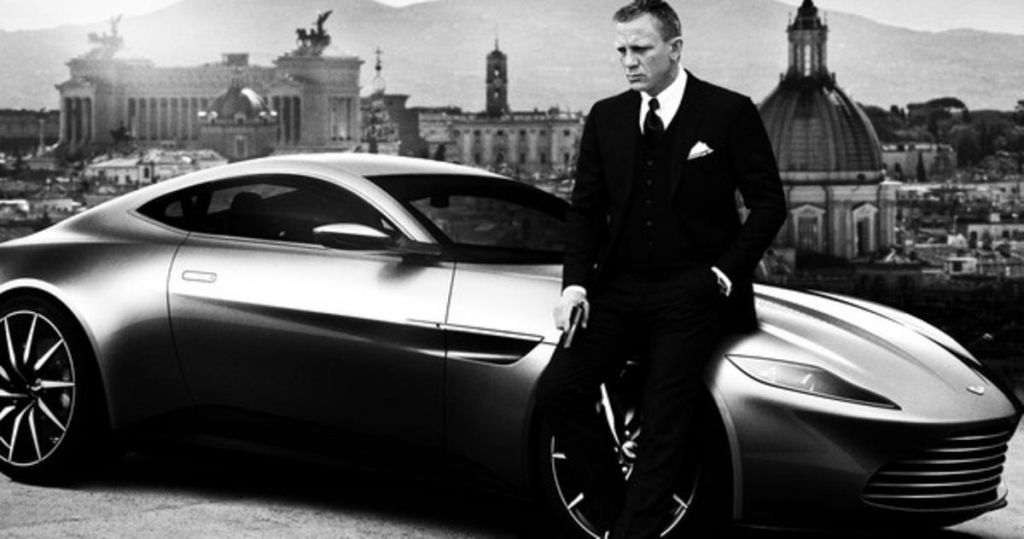 James Bond in Black and White