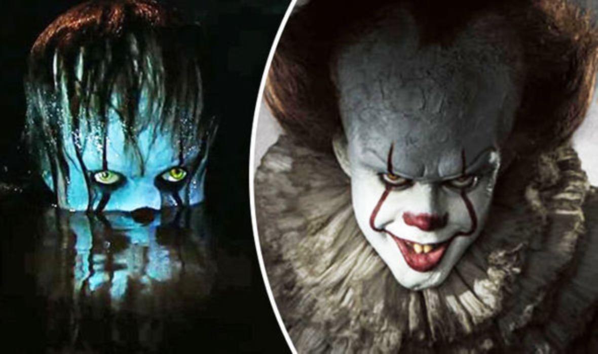Wallpaper It Clown Bill Skarsgard Horror 2017 Hd: Bill Skarsgård Confirms Pennywise Return For IT 2