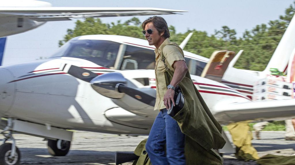 Tom Cruise American Made Plane