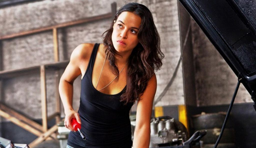 Fast and Furious 7 with Michelle Rodriguez