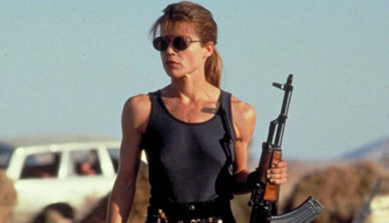 Sarah Connor Terminator 2 Screencap | kesseljunkie
