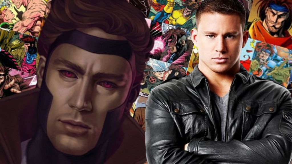 Channing Tatum Gambit Conceptual Art