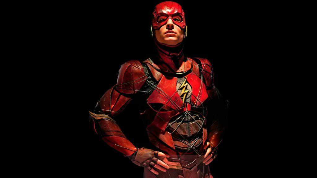 Ezra Miller The Flash in Justice League