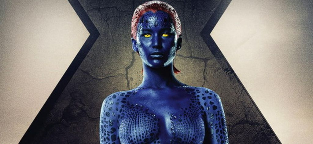 Jennifer Lawrence in X-Men