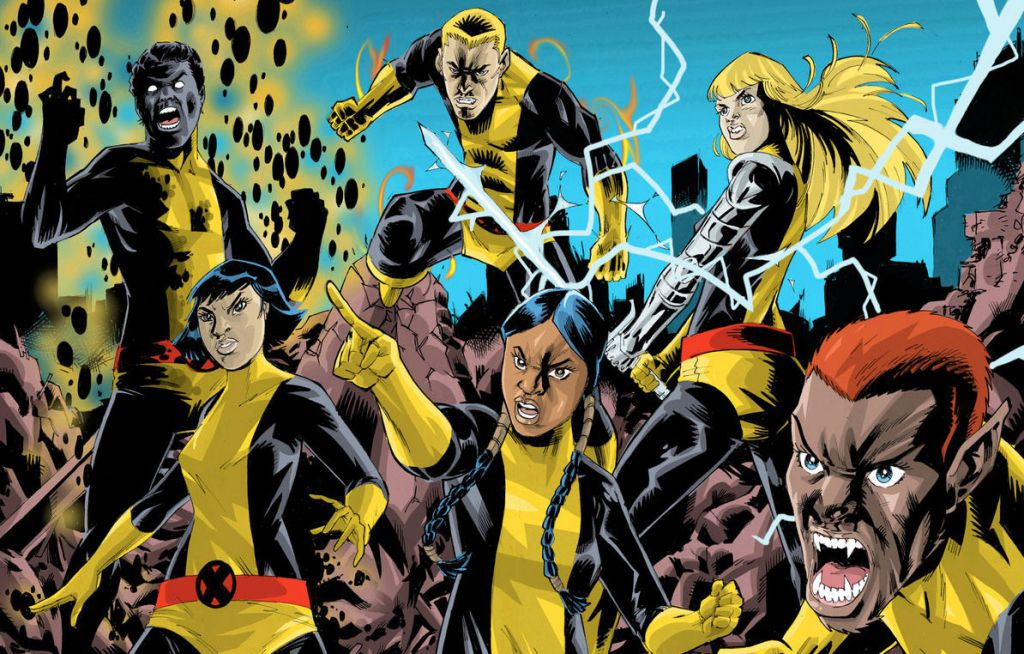 New Mutant Marvel Series