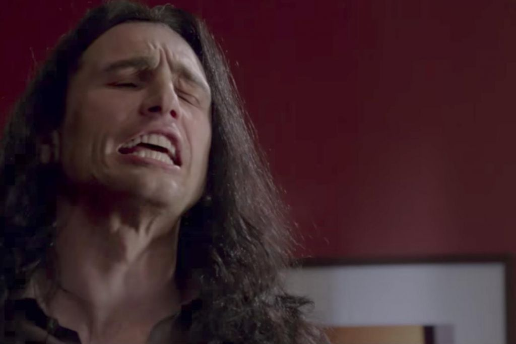 James Franco as Tommy Wiseau in Disaster Artist