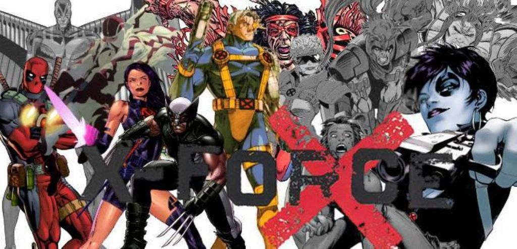 X-Force Marvel Comic