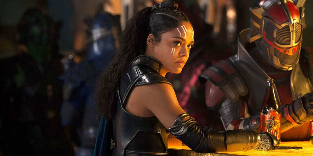 Tessa Thompson in Thor Ragnarok