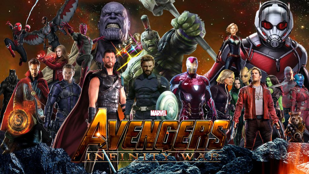 Avengers Infinity War Mash Up MCU