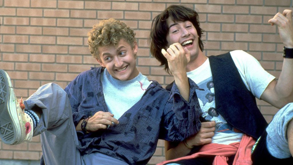 Excellent Bill and Ted Keanu Reeves