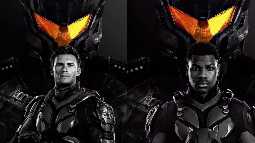 John Boyega and Scott Eastwood in Pacific Rim Uprising