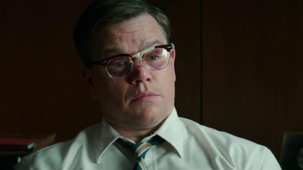 Suburbicon Matt Damon Scene