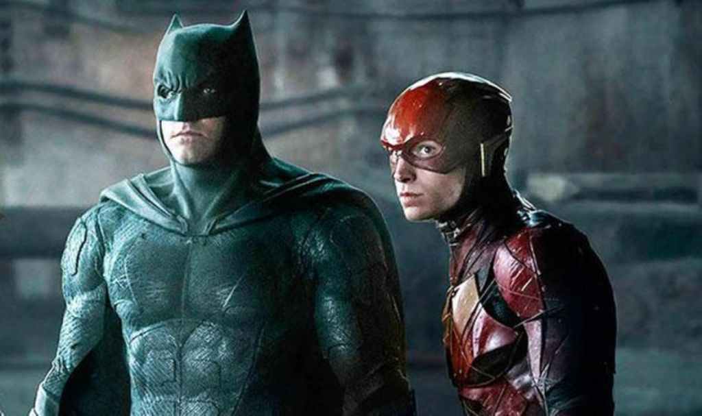 Batman and Flash in Justice League