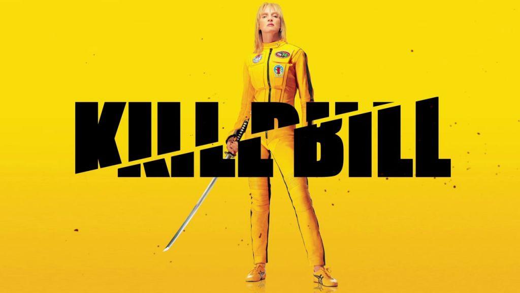 Kill Bill Yellow Poster