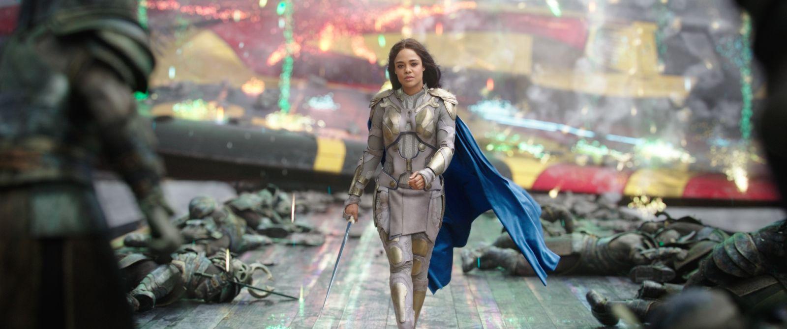 Valkyrie in Thor Ragnarok