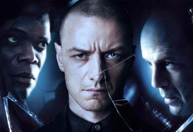 Bruce Willis Fights James McAvoy In Leaked Glass Set Video