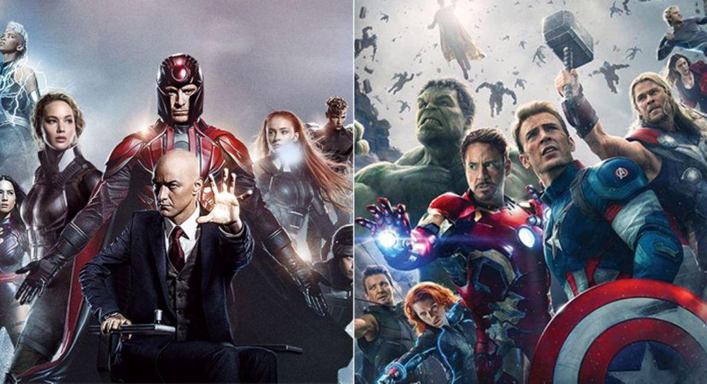 X-Men Avengers Disney