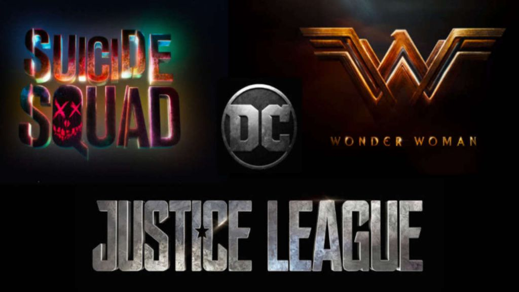 DCEU Movie Logos