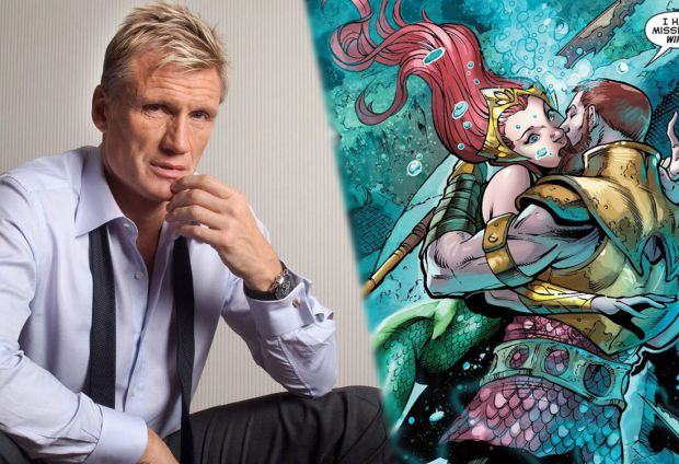 Aquaman Characters King Nereus and Mera a Departure From The Comics