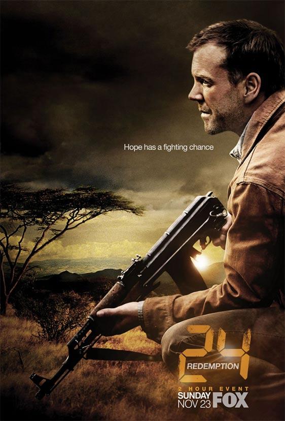 24: Redemption Poster #1