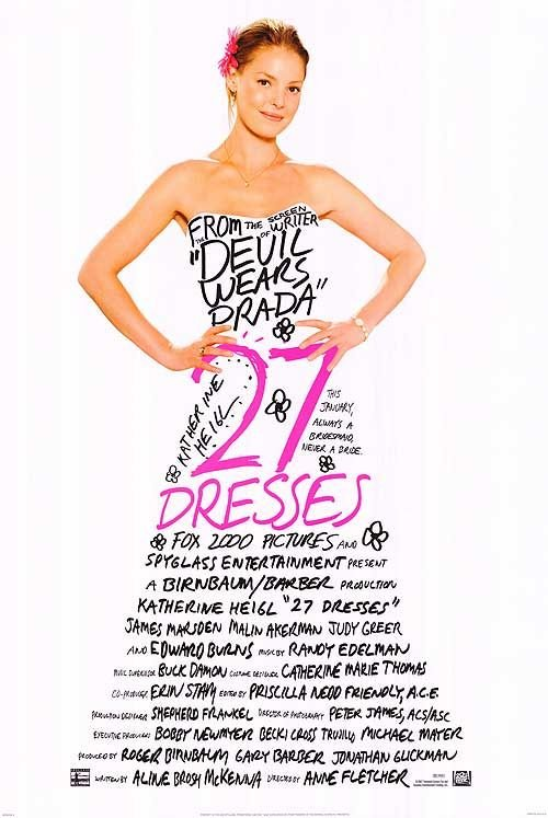 27 Dresses Poster #1
