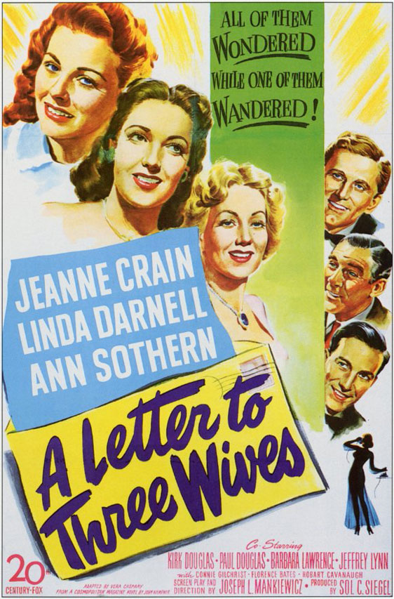 A Letter to Three Wives Poster #1