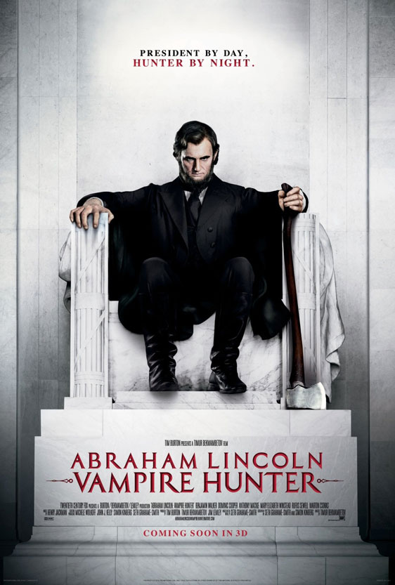Abraham Lincoln: Vampire Hunter Poster #2