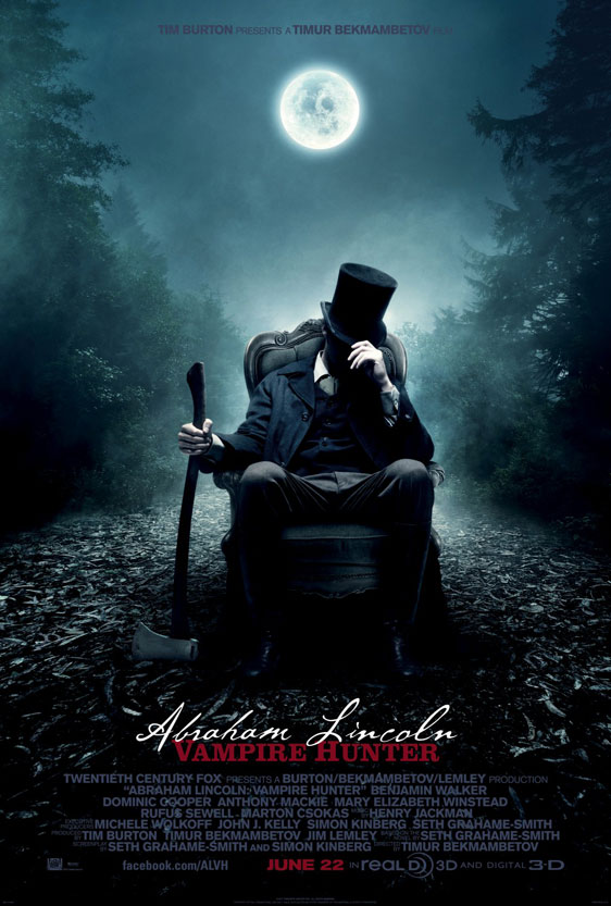 Abraham Lincoln: Vampire Hunter Poster #1