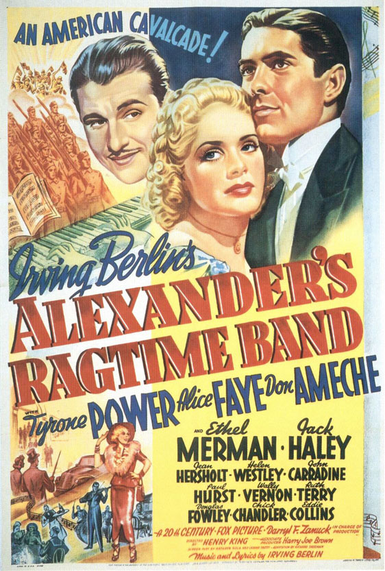 Alexander's Ragtime Band Poster #1