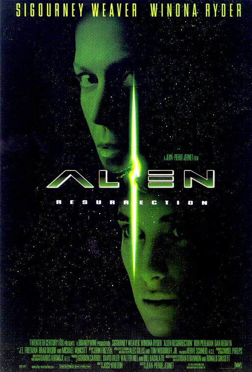 Alien: Resurrection Poster #1