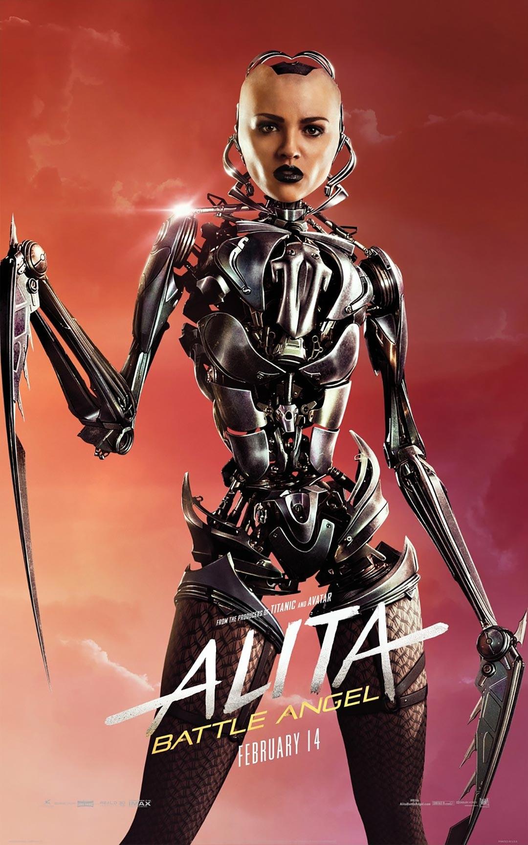 Alita: Battle Angel Poster #11