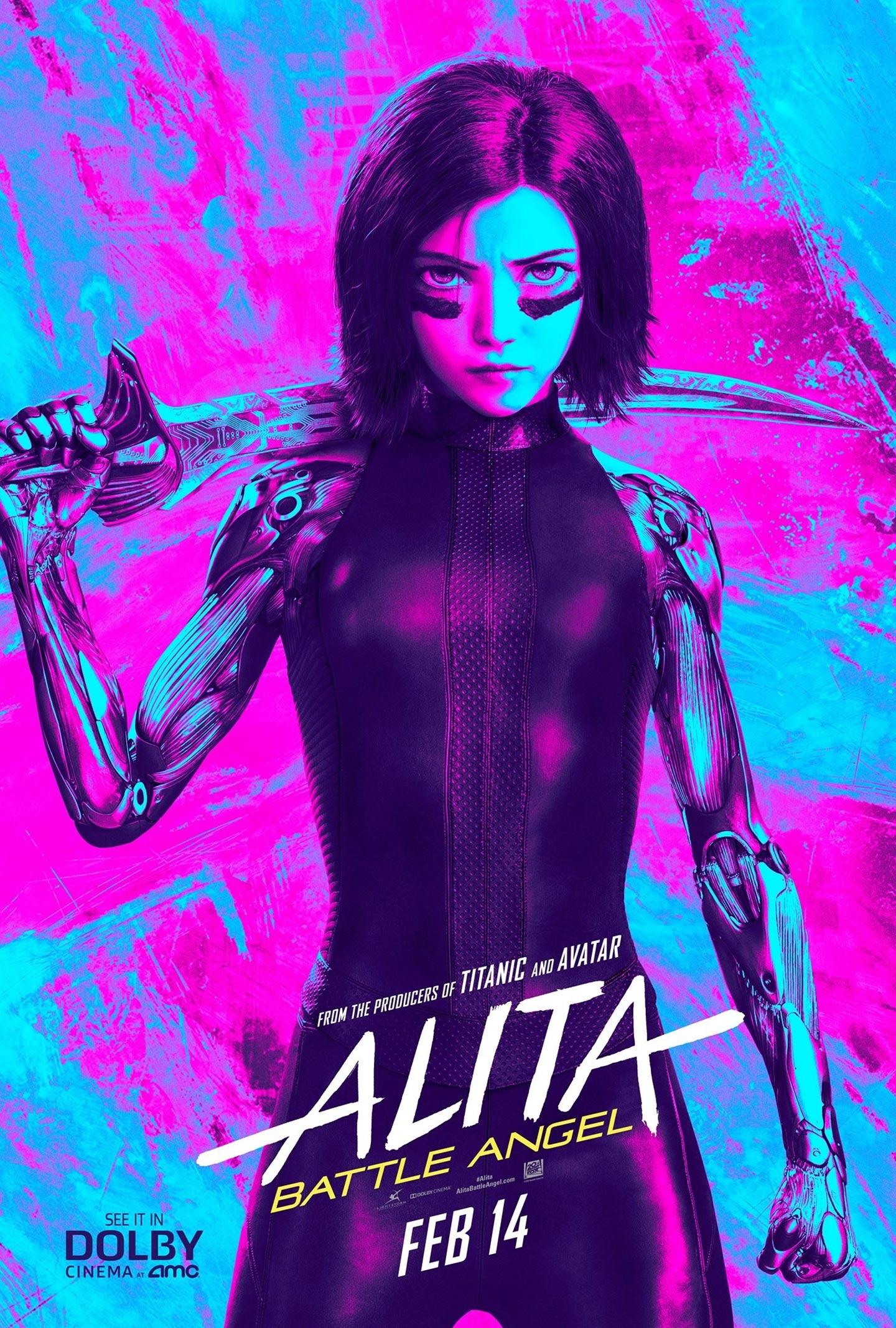 Alita: Battle Angel Poster #13