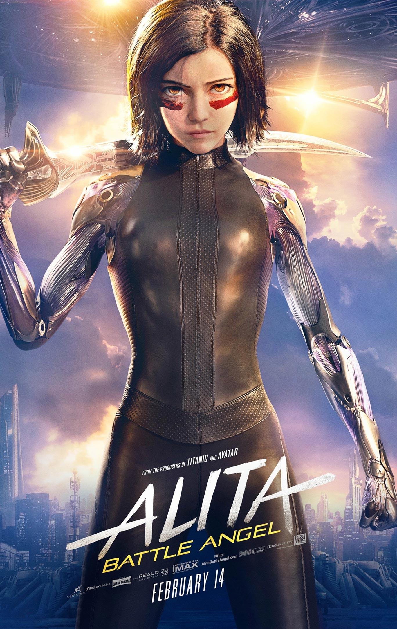 Alita: Battle Angel Poster #2